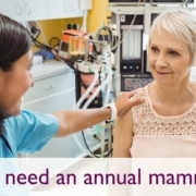 Mammograms and Older Women: Is It Ever Safe to Stop?