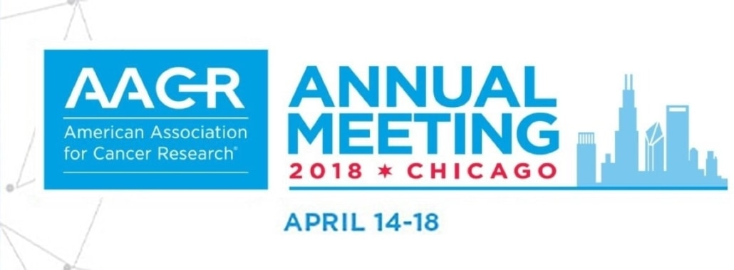 aacr2018 american association for cancer research annual meeting 2018 AACR 2018 AACR annual meeting 2018