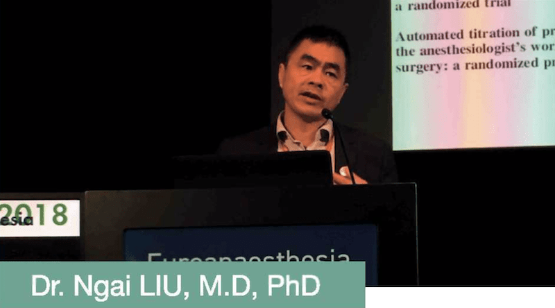 Dr Ngai LIU - Euroanaesthesia 2018 - Closed-Loop or Automated Titration of IV Anaesthesia Impact on Routine Anaesthesia